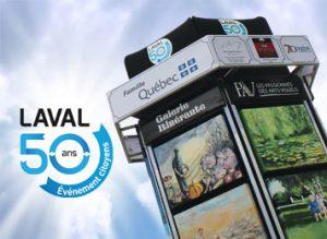 Galerie Itinérante pour les 50 ans de Laval
