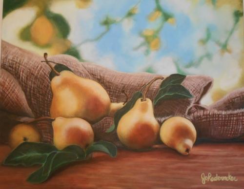 La récolte-16'' x 20''-Acryllique sur toile(2)
