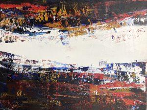Sérénité, 16po x 20po, acrylique